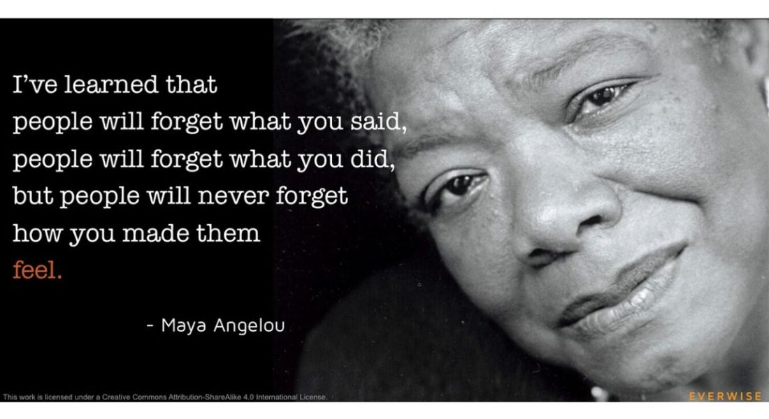 Citation de Maya Angelou