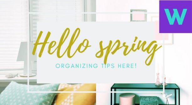 Conseils d'organisation du printemps à la maison