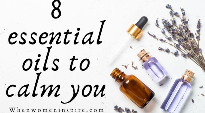 Essential oil for peace and calming