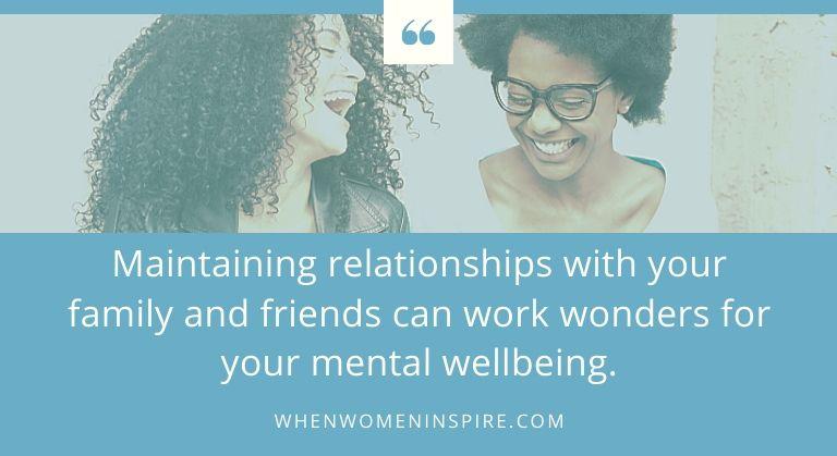 Conseils sur le bien-être mental