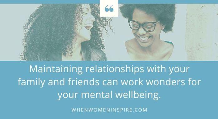 Mental wellbeing tips