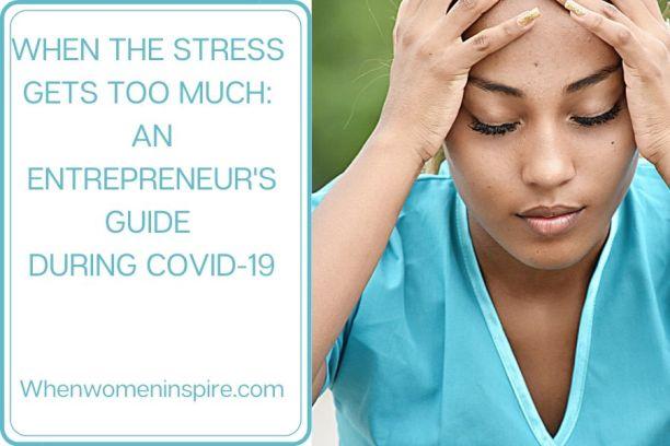 Entrepreneurial stress management