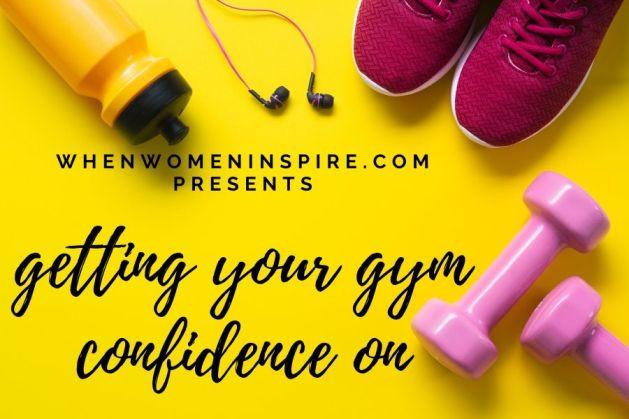 Conscient de soi à la salle de gym
