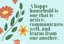 Healthy family quote