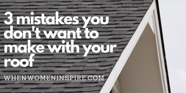 Common roofing mistakes