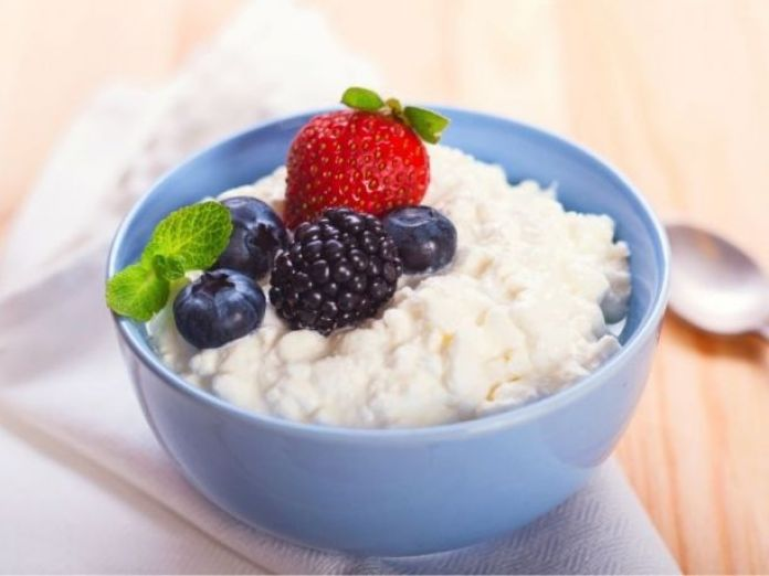 Try cottage cheese with berries