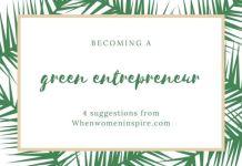 Green entrepreneur, eco entrepreneur