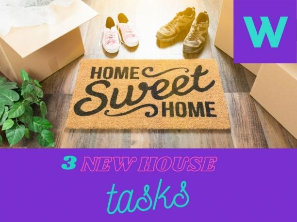 move into a new house