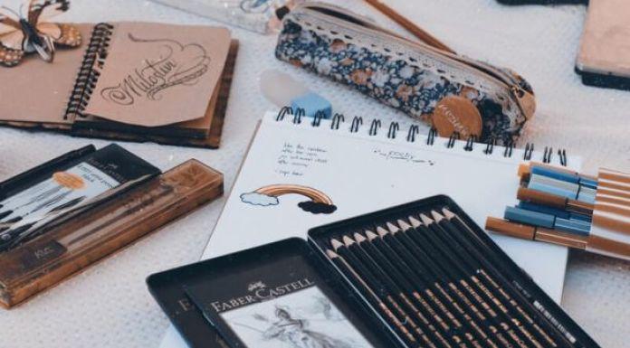 Drawing art as self-care