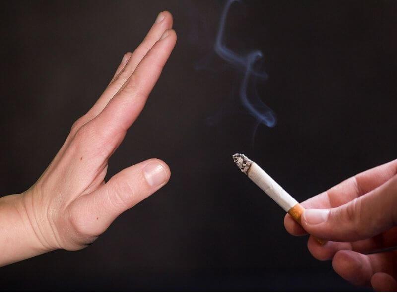 Stop smoking as ways to relieve tension