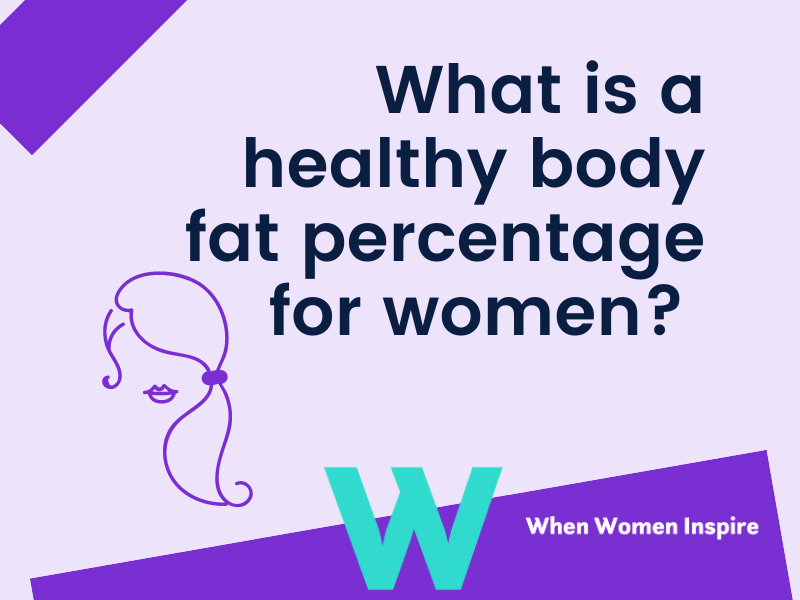 Healthy body fat percentage in women