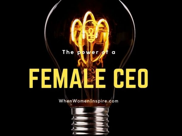 Woman CEO power