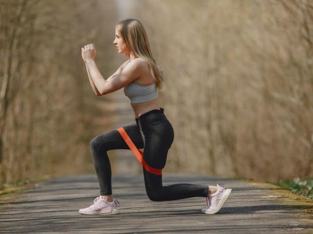 Resistance bands benefits leg exercises