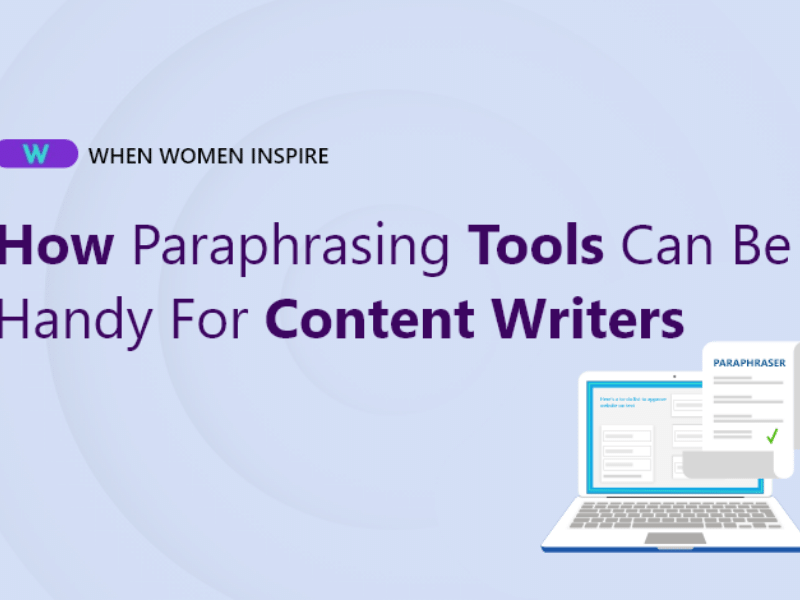 Free paraphrasing tool for content writers