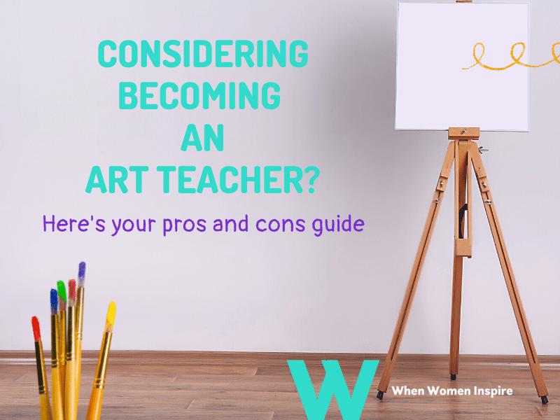 Becoming an art teacher
