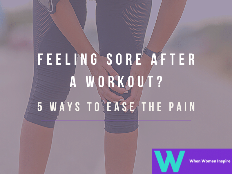 Sore muscles after workout