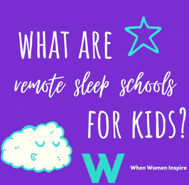 Remote sleep schools