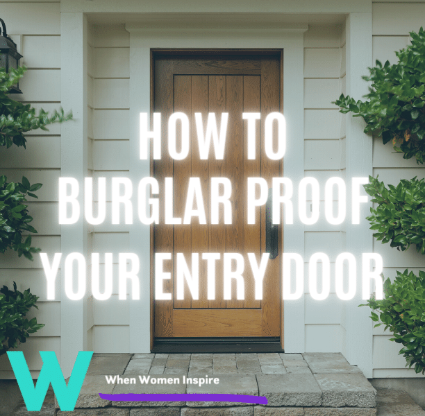 Burglar resistant doors