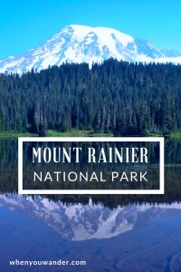 Mount Rainier National Park is a hiker's dream. Here are the details about the history, hikes, and sights in this park that includes everything from snowy mountain top terrain to lush green old growth forests.