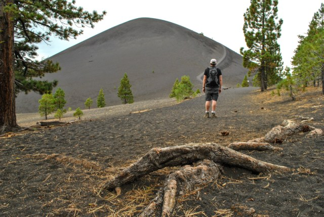 At Lassen Volcanic National Park in California you can see all four different types of volcanoes and climb not just up, but inside a volcano. Find out how in this post.