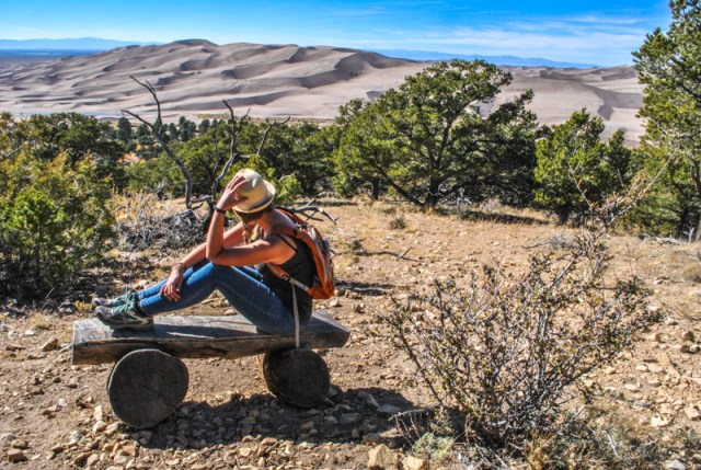 Great Sand Dunes National Park is one of those places that's so oddly strange, you hardly believe it's real. This post is about Fall adventures in sandy dunes and the snowy Rocky Mountains in Colorado.