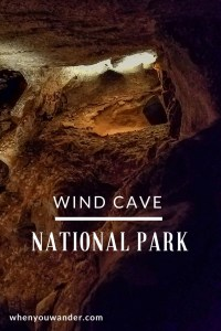Wind Cave has the best cave tour! Find out why in this post.