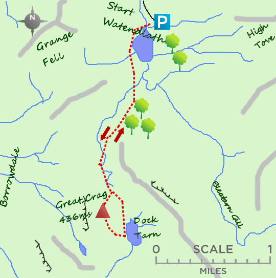Watendlath map