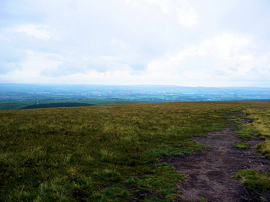 Summit plateau