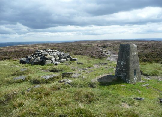 Ilkley Moor Summit