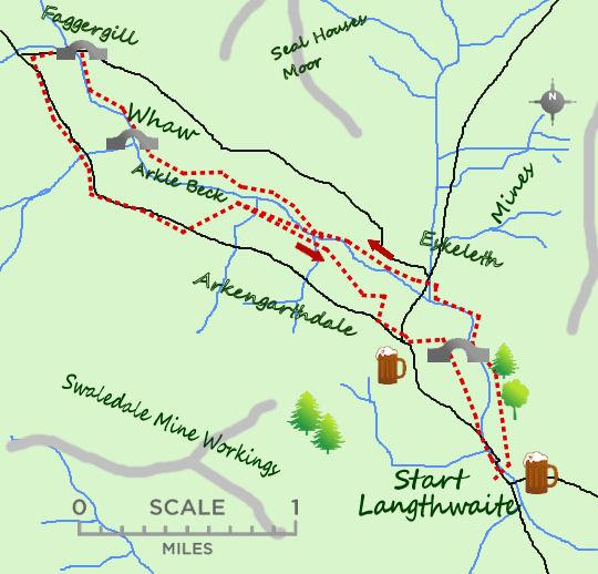 Arkengarthdale map