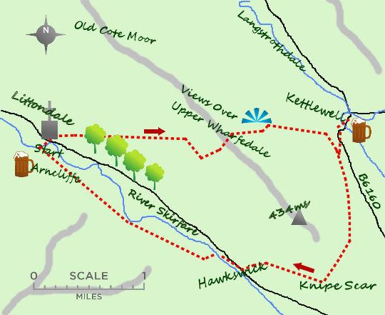 Arncliffe Circular map