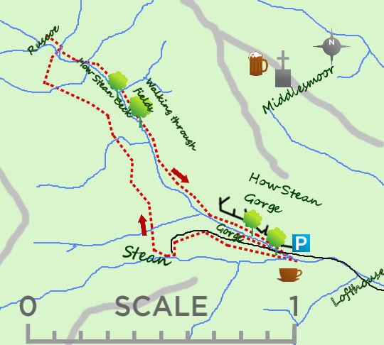 How Stean Gorge map