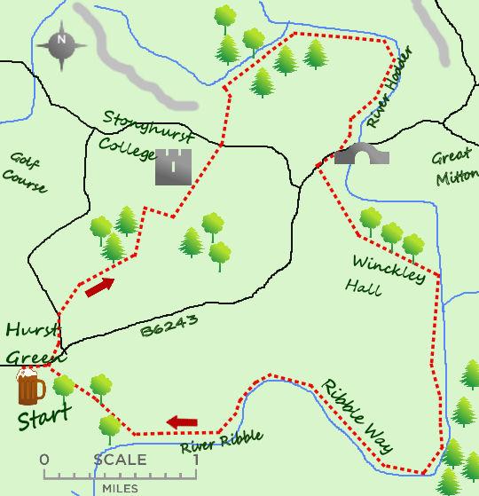 Tolkein Trail map