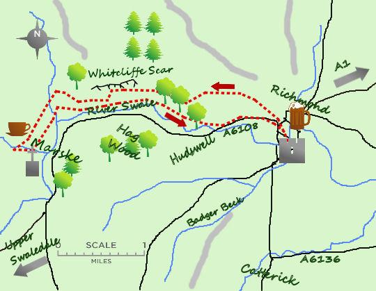 Richmond Marske map