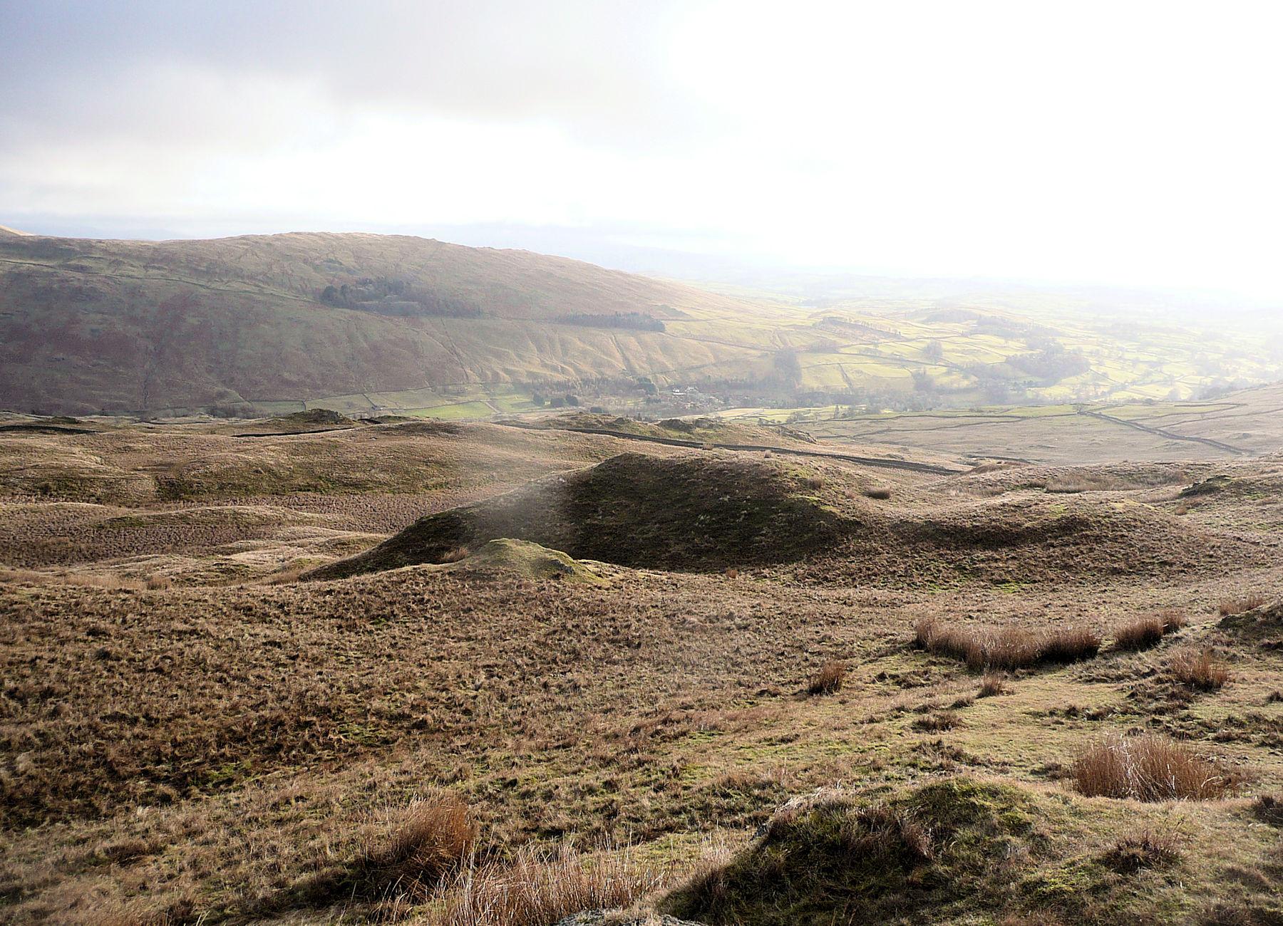 Drumlins on Wansfell