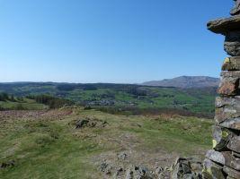 Hawkshead from summit Latterbarrow