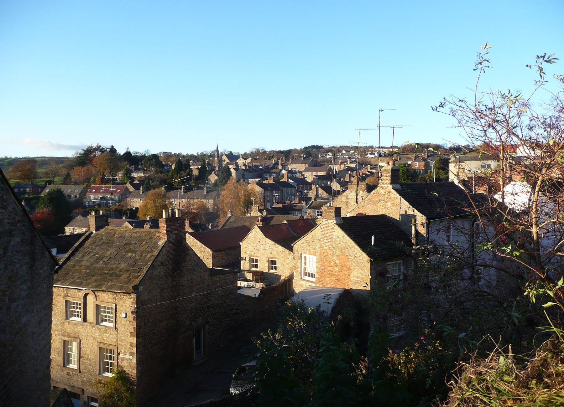 Richmond rooftops