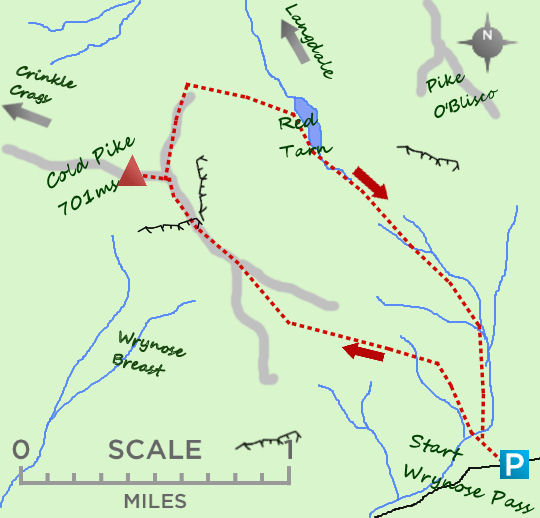 Cold Pike map
