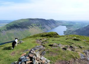 Summit views Yewbarrow