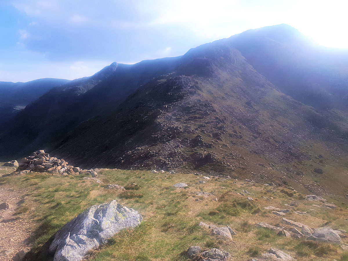 Ridge between Swirl How and Wetherlam