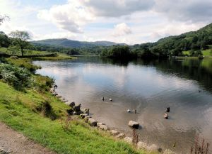 Facing North on Rydal Water