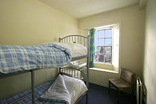 Room at backpackers