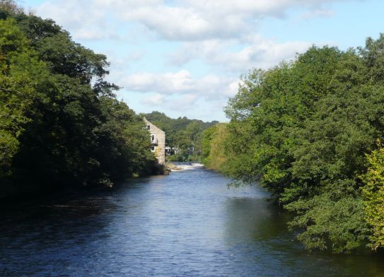Addingham River Wharfe
