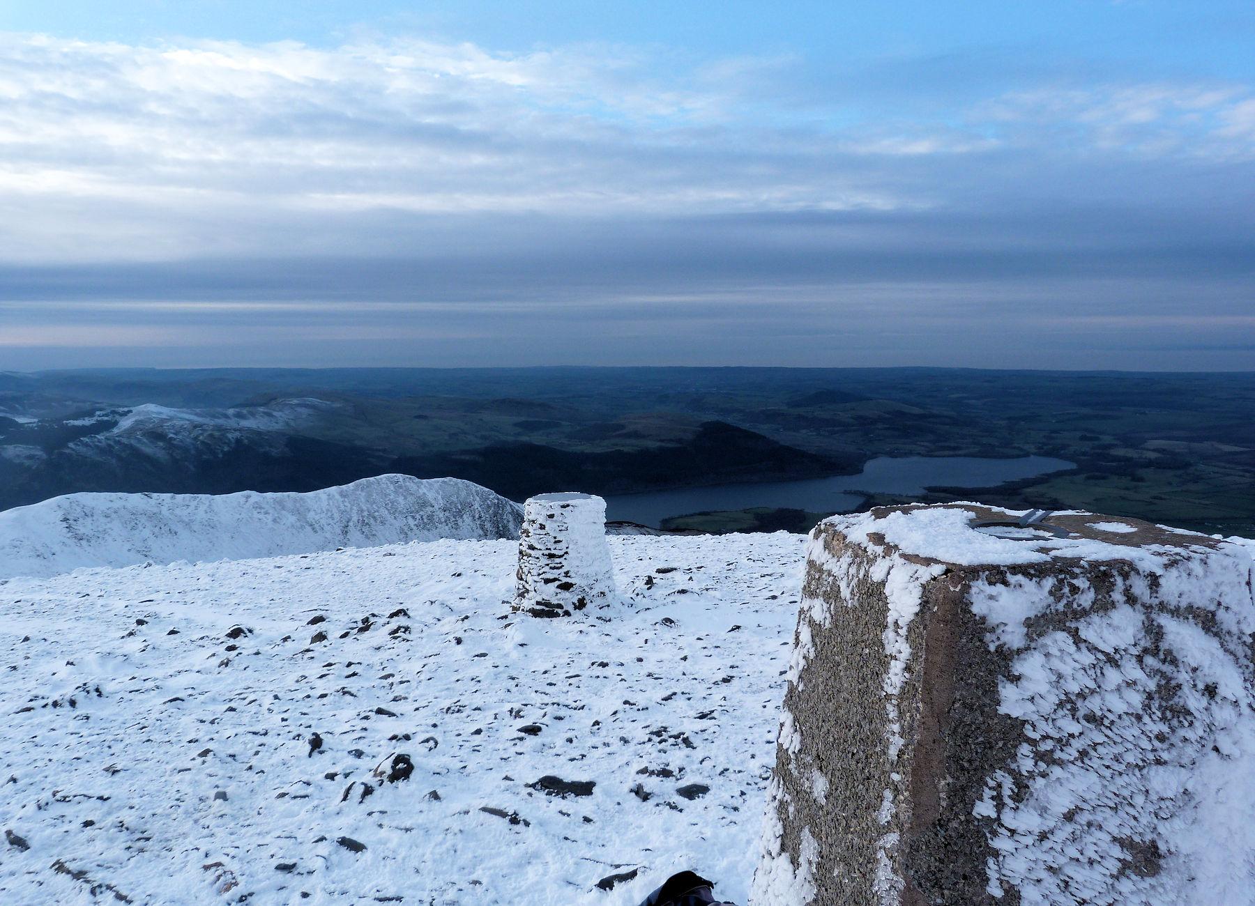 Summit Skiddaw