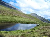 Col between Ullock Pike and Carl Side