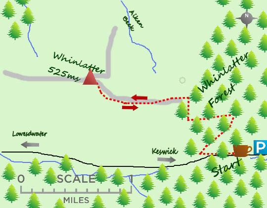 Whinlatter map
