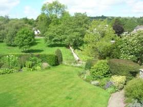 Views over the garden