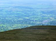 Sedbergh from Baugh Fell