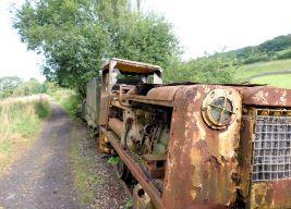 Original steam train