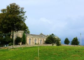High Bentham church